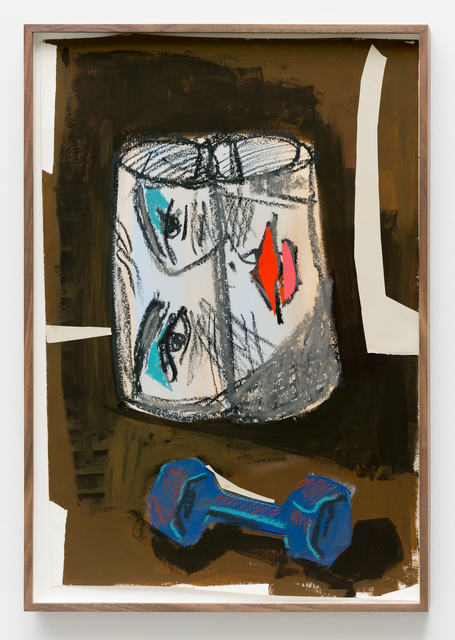 , 'Paper, Face, Weight,' 2017, Temnikova & Kasela