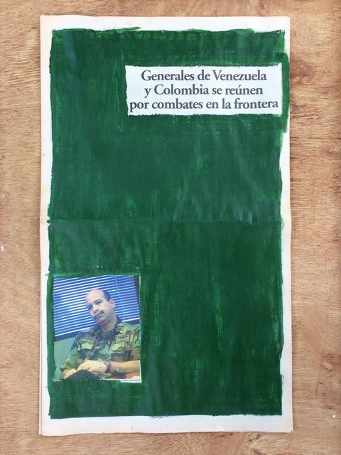 , 'La verdad no es noticia. Generales de Venezuela y Colombia se reúnen por combates en la frontera,' 2016, Josedelafuente