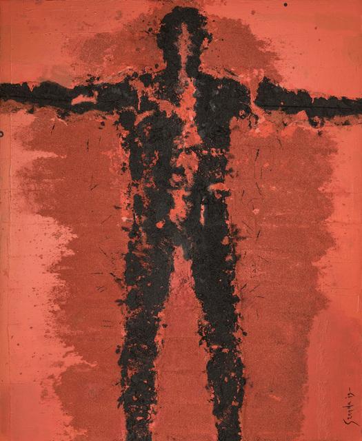 , 'Personaje Abrazando,' N/A, Galeria Oscar Roman