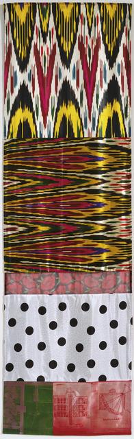 Robert Rauschenberg, 'Samarkand Stitches VI', 1988, Gemini G.E.L.