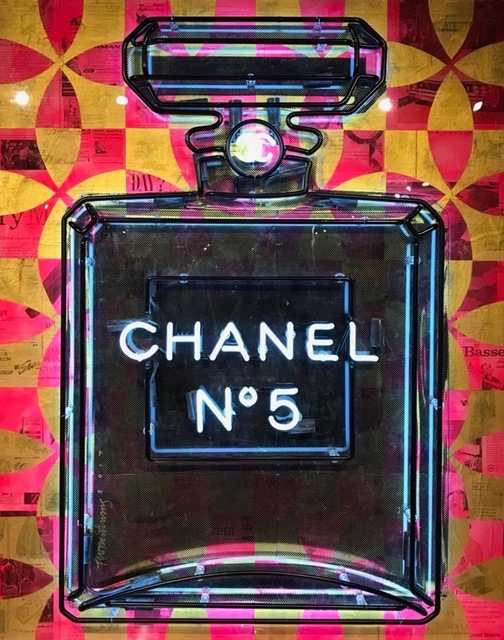 , 'Chanel No. 5,' 2017, Gilles Clement Gallery