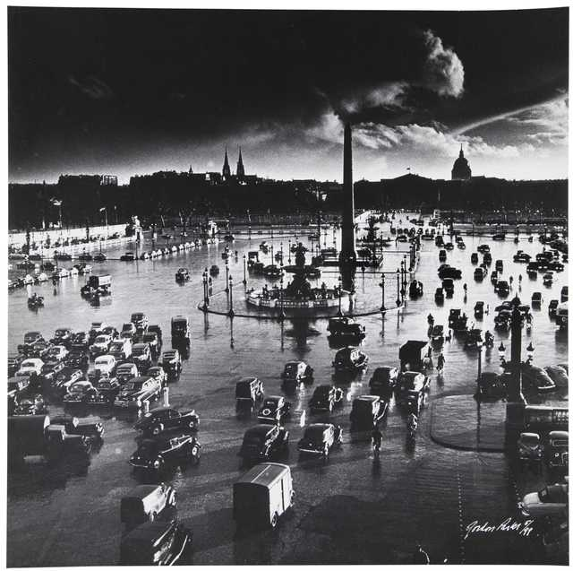 Gordon Parks, 'Place de la Concorde, Paris, France', 1950, Afterimage Gallery
