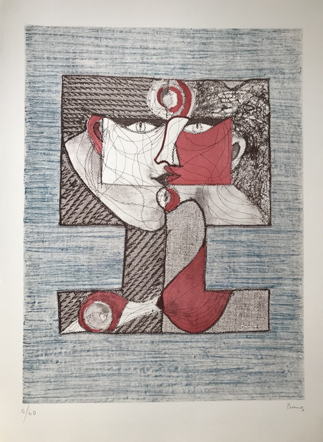 Bona de Mandiargues, 'Le baiser', Digard Auction