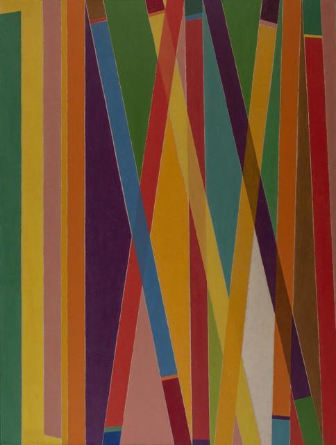 Piero Dorazio, 'Match', 1968, Itineris
