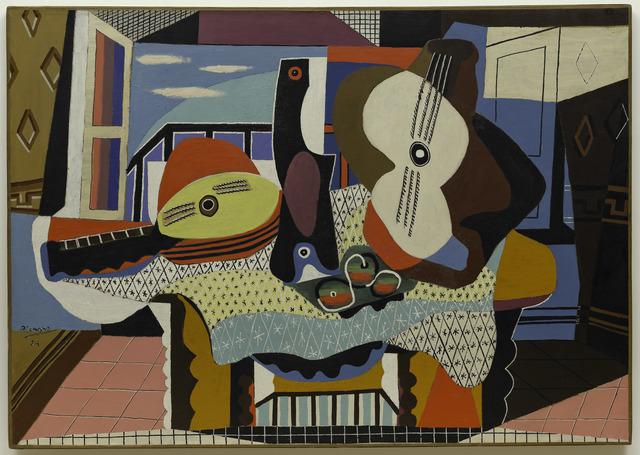 , 'Mandoline et guitare,' 1924, Guggenheim Museum Bilbao