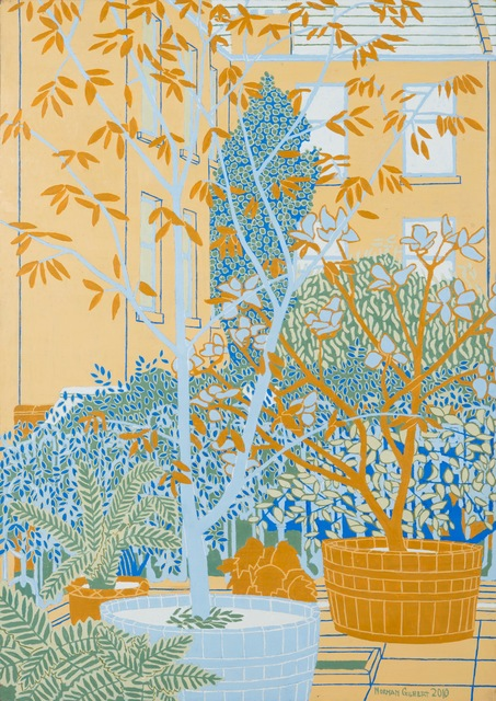 Norman Gilbert, 'Tubs, Trees and Tenements', 2010, Tatha Gallery