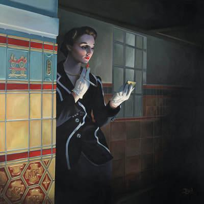 , 'Cloak & Dagger,' 2018, Black Door Gallery