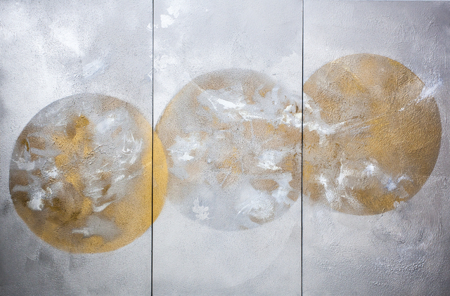 , 'Ménage a Trois,' 2015, Walter Wickiser Gallery