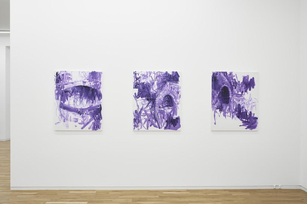 Troels Wörsel, exhibition view, Jahn und Jahn, 2018
