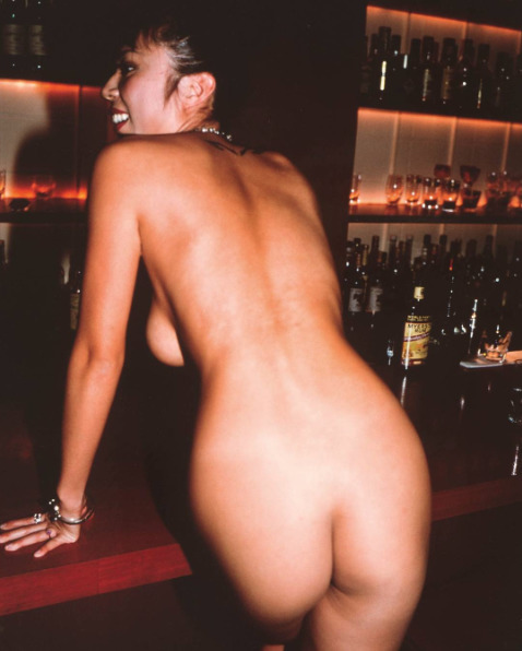 , 'Mash at the Bar Rouge nude, Tokyo,' ca. 1998, Galleria Pack