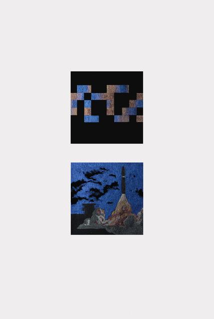 , 'Voyager Probe 1977 + 2013 ,' 2016, BERLIN BLUE art