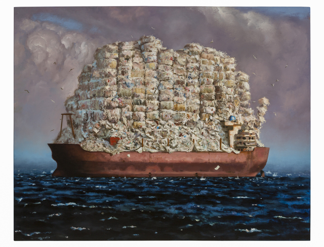 , 'Mobro: High Seas Drifter,' 2015, Catharine Clark Gallery
