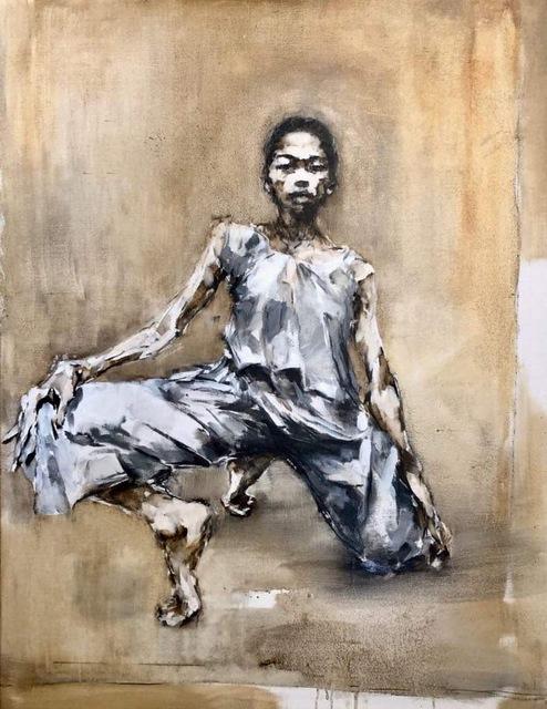 Gabriel Schmitz, 'Still', 2019, Painting, Oil/charcoal on canvas, GALLERI RAMFJORD