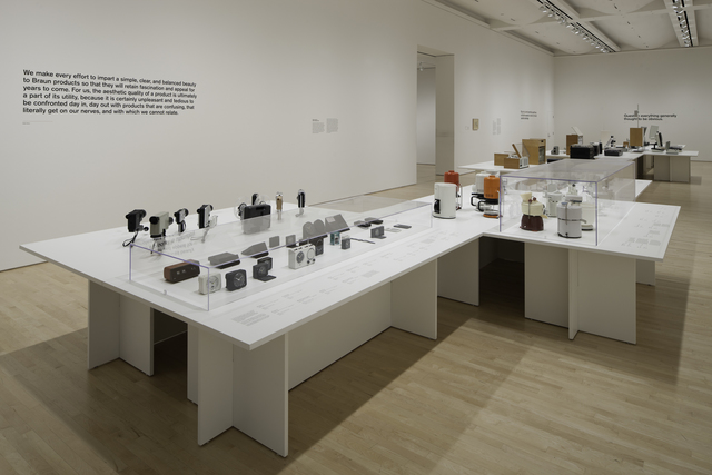 """Dieter Rams, 'Installation view """"Less and More: The Design Ethos of Dieter Rams""""', 2011, San Francisco Museum of Modern Art (SFMOMA)"""