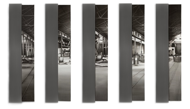 , 'Motul - Polyptic,' 2011, Gachi Prieto