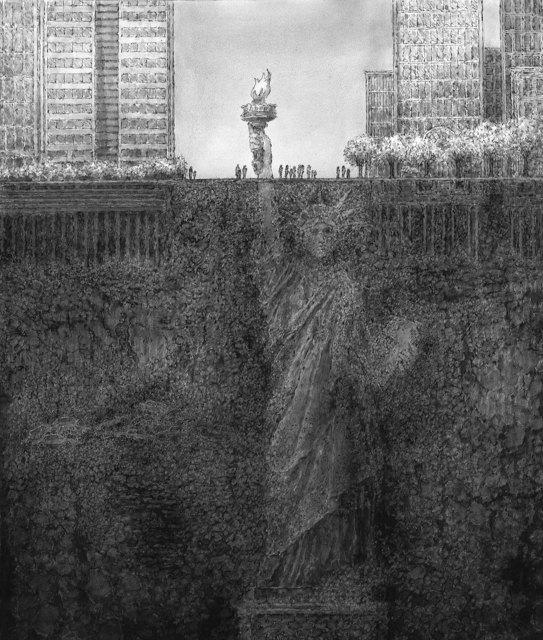 , 'Lady Liberty Plaza,' 2017, Rhona Hoffman Gallery