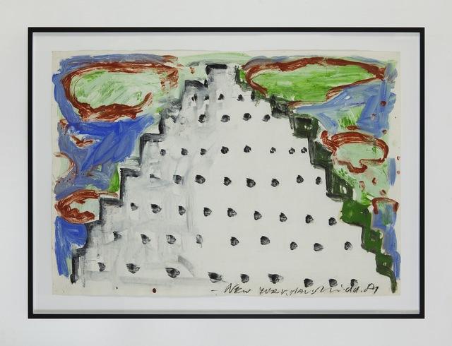 , 'NY-Haus,' 1981, Eleni Koroneou
