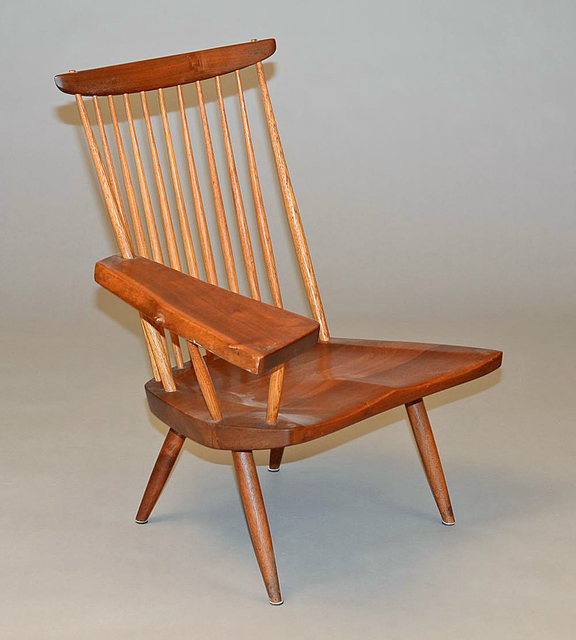 """, '""""New"""" Lounge Chair with Writing Arm,' , Moderne Gallery"""