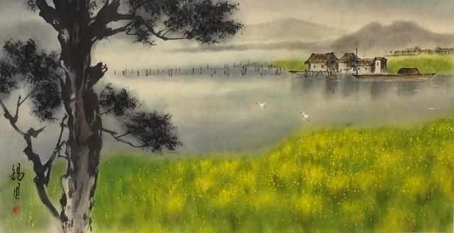 , 'Rape seedflowers field 油菜花田,' 2014, Our Gallery