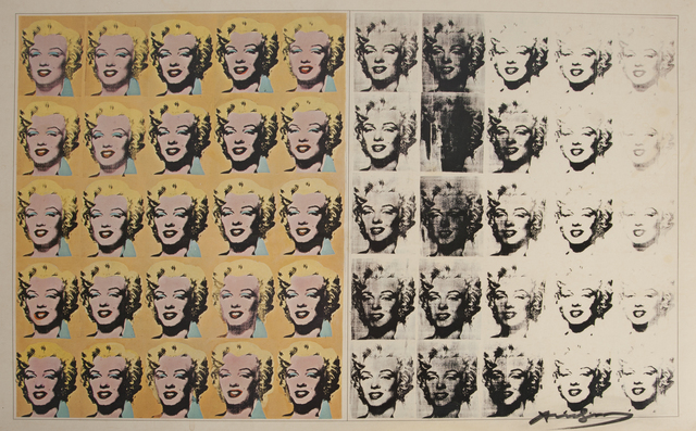 Andy Warhol, 'Marilyn Diptych', Julien's Auctions