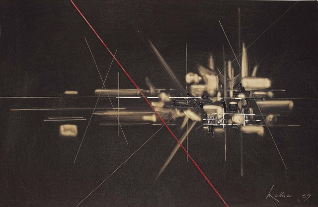 , 'Composition,' 1969, Omer Tiroche Gallery