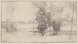 Donald Shaw MacLaughlan, 'Sussex Landscape', 1920, Print, Etching, National Gallery of Art, Washington, D.C.