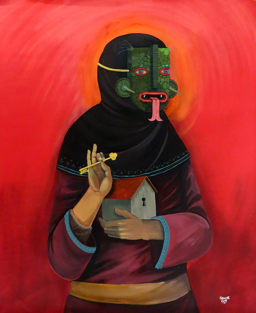 , 'The Protector,' 2014, Jonathan LeVine Projects