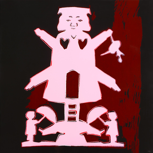 Andy Warhol, 'Mill Man With Dancing Girl and The Sandman', 1987, Galleri5000