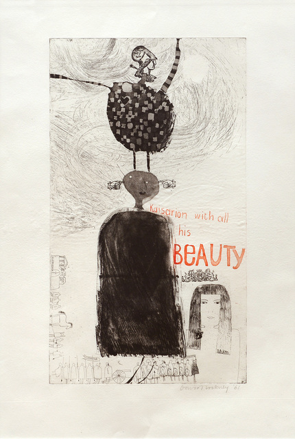 David Hockney, 'Kaisarion and all His Beauty', 1961, Peter Harrington Gallery