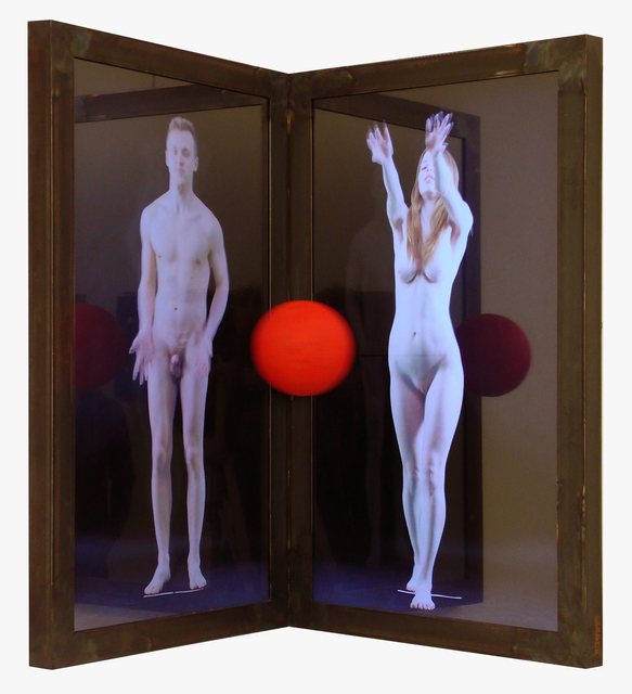 , 'Adam and Eve,' 2013, Anna Zorina Gallery