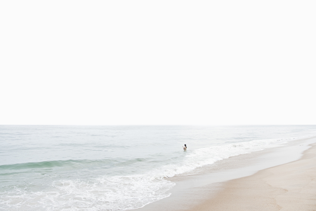 , 'Amagansett Beach,' 2016, Lumitrix