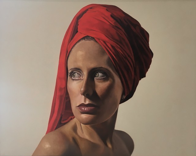 Toby Boothman, 'Girl with the Red Turban', Plus One Gallery