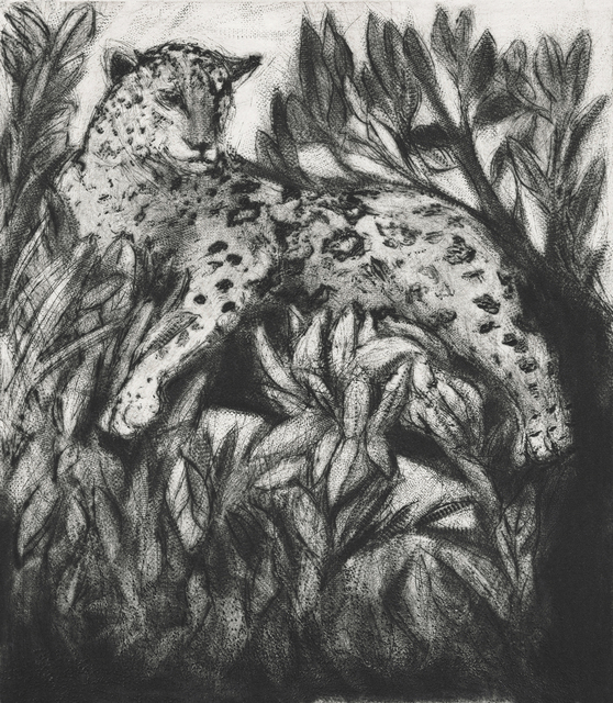 , 'There Was This Jaguar - in the forest,' 2014, PRATT CONTEMPORARY / PRATT EDITIONS