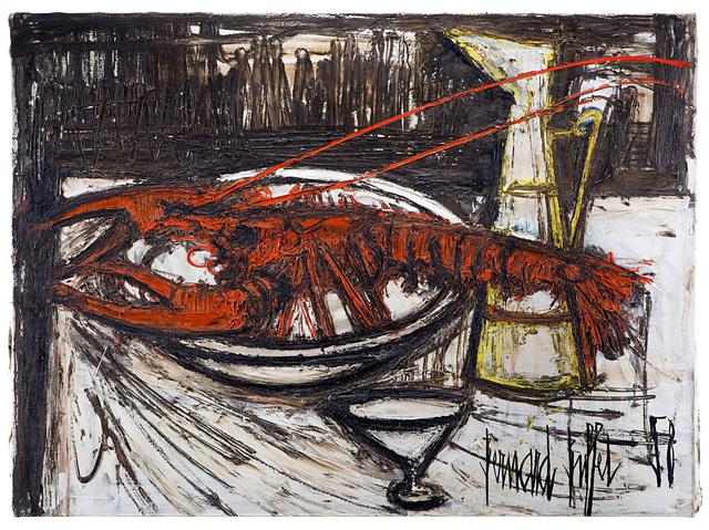 Bernard Buffet, 'Homard et Broc', 1958, Il Ponte
