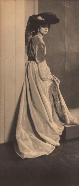 Baron Adolph De Meyer, 'Baroness Olga de Meyer in a dark hat', Doyle