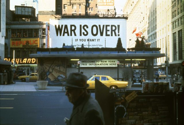 , 'War is Over!,' 1969, MALBA