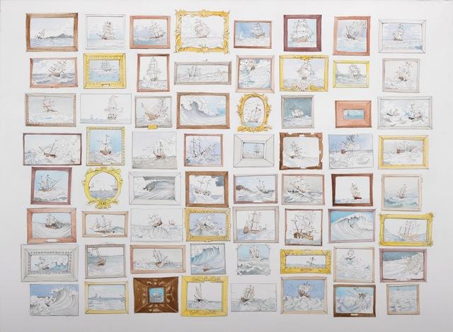 , 'Rough Seas,' 2018, Kopeikin Gallery