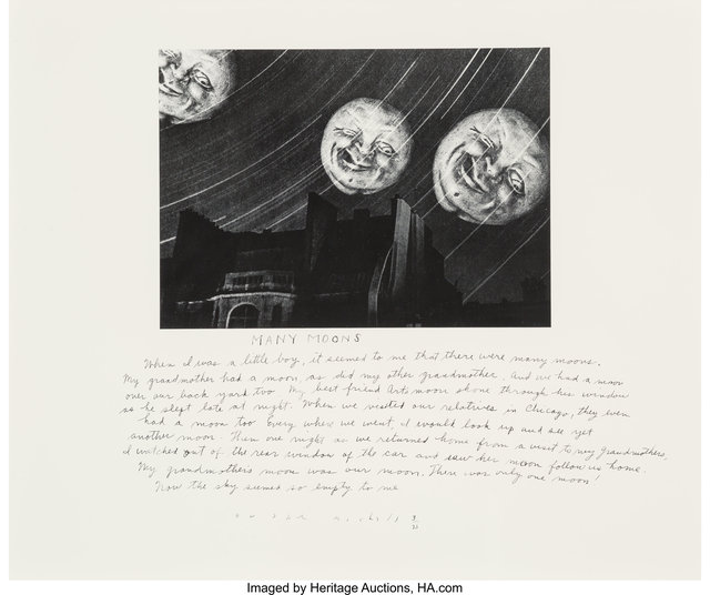 Duane Michals, 'Many Moons', 1989, Heritage Auctions