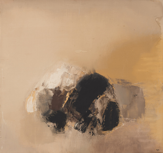 Luis Feito, 'Pittura', 1958, Mixed Media, Oil and mixed media on cardboard laid on canvas, Il Ponte