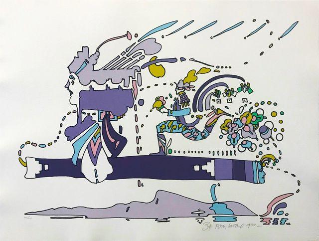 Peter Max, 'TRANSLUCENT VISION', 1970, Gallery Art