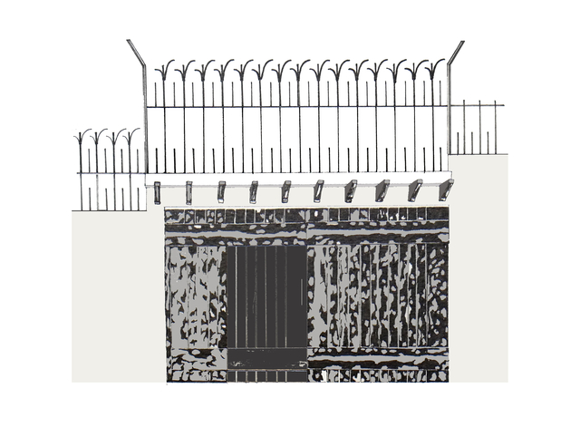 , 'Tough Gates - House #16,' 2018, Rossi & Rossi