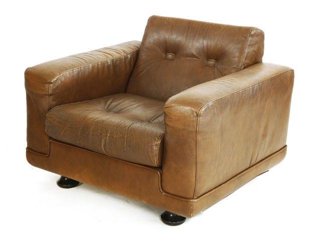 Thams, 'A Danish brown leather armchair', Sworders