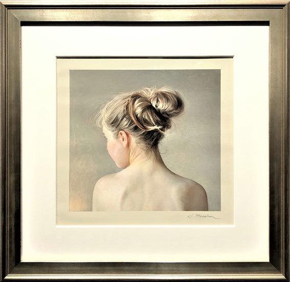 Serge Marshennikov, 'Model in the Light', 2020, Painting, Oil on Paper, Maxwell Alexander Gallery