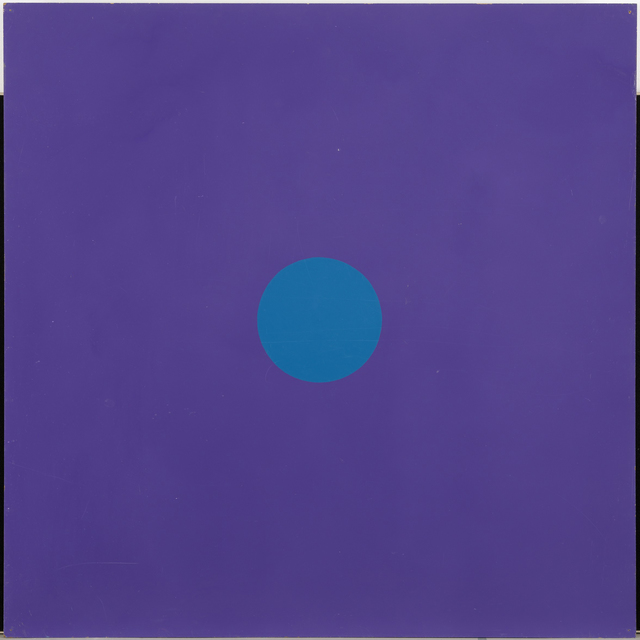 , 'Untitled / Series with one dot on monochrome background,' 1965, Galleri Bo Bjerggaard