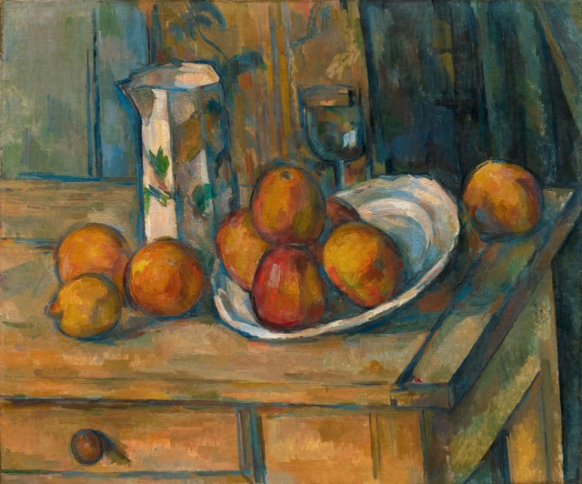, 'Still Life with Milk Jug and Fruit,' ca. 1900, National Gallery of Art, Washington, D.C.