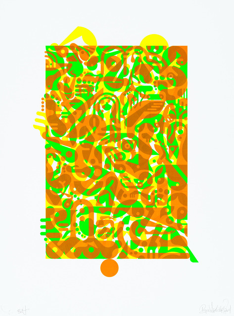 , 'Untitled (Fluorescent Women Parts) 1,' 2014, Lower East Side Printshop