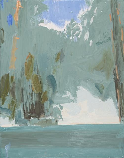 , 'Small Lake no. 2,' 2018, DC Moore Gallery