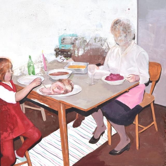 , 'Fiesta,' 2017, Robert Kananaj Gallery
