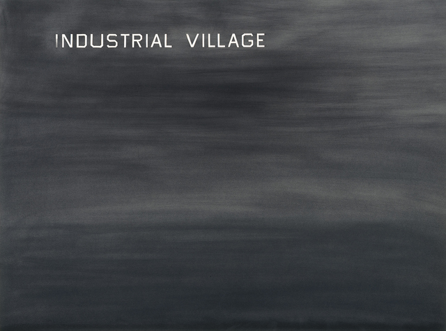, 'Industrial Village,' 1982, Gagosian