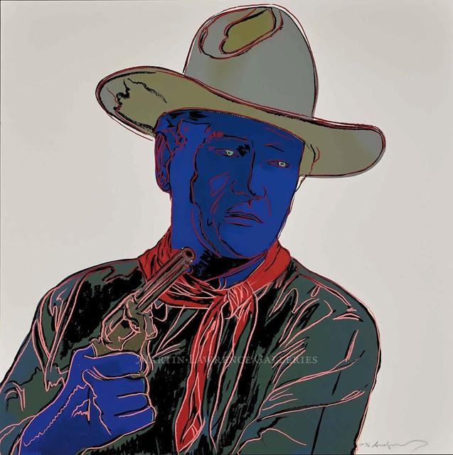 , 'John Wayne, 1986 (#377, Cowboys & Indians),' 1986, Martin Lawrence Galleries